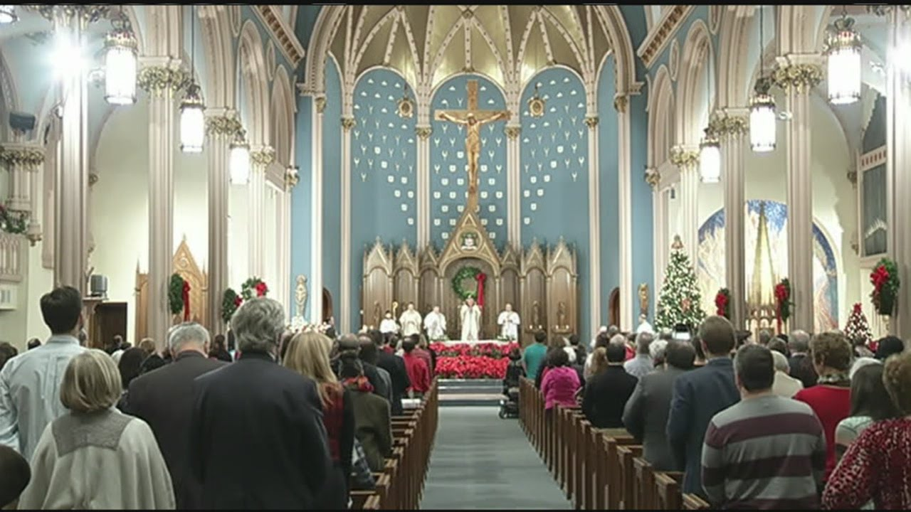 christmas eve mass held at st michaels cathedral - Christmas In St Michaels