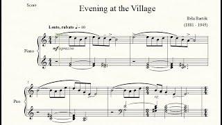 Evening at the Village - Béla Bartók - Piano Repertoire 8