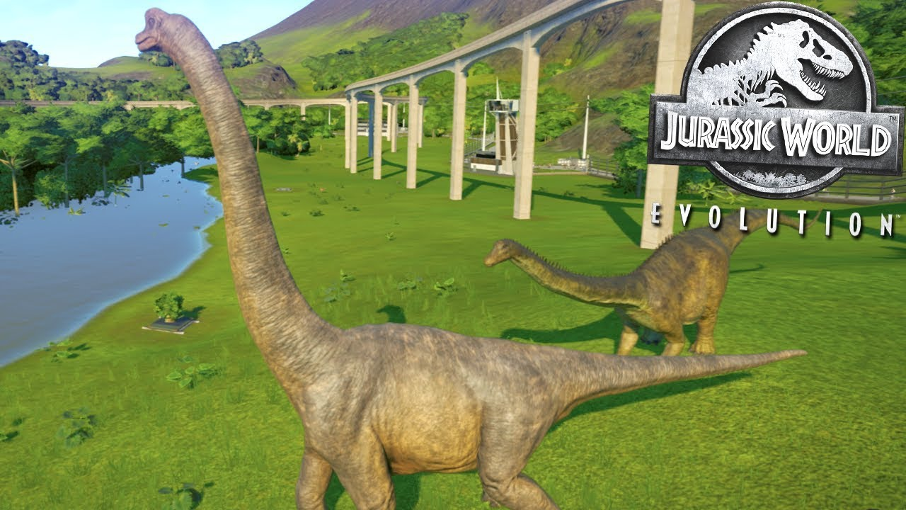 BRACHIOSAURUS BIGGER THAN...! || Jurassic World Evolution [FHD-1080p]