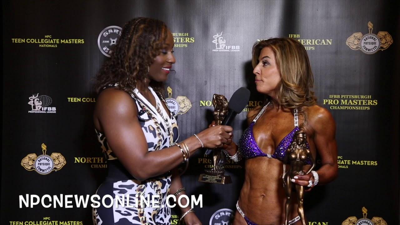 2017 IFBB North American Over 50 Bikini Overall Winner Jean Carter