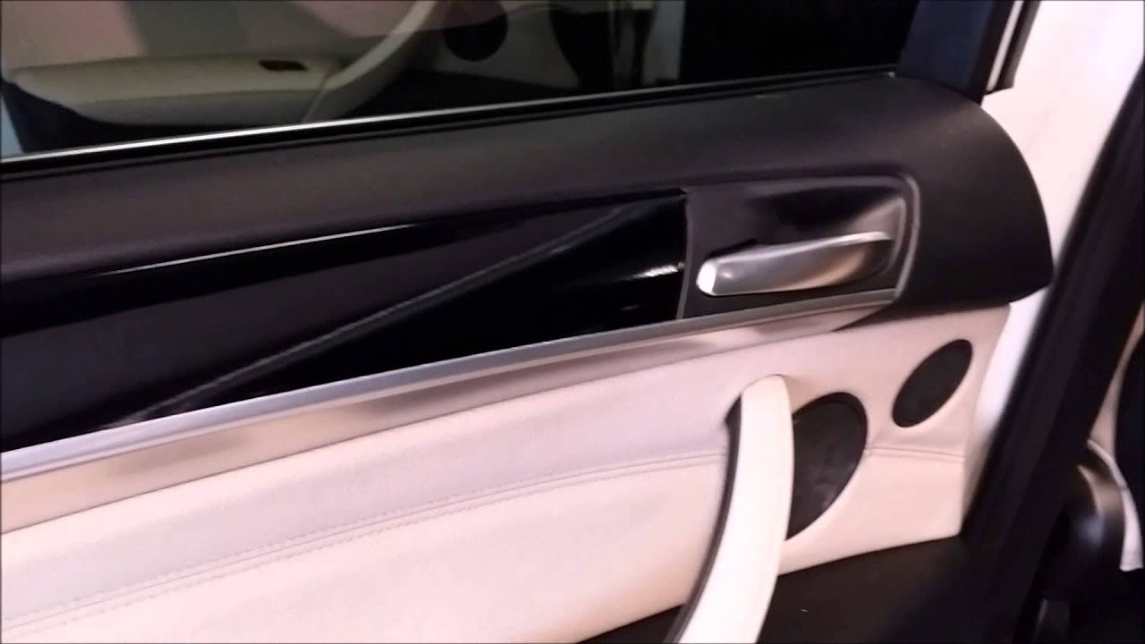 Bmw X5 Interior Trim Gloss Black Wrap Youtube