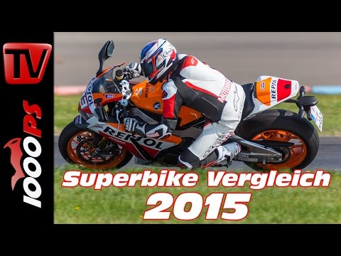 Honda CBR 1000 RR SP Test 2015 - 1000cc Vergleich | Bestes Superbike?