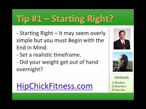womens-weight-loss---tip-#1-starting-right---hip-chick-fitness-womens-weight-loss-book