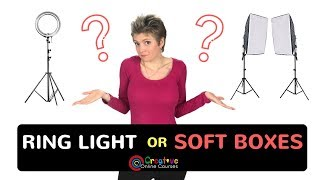 Softbox vs Ring Light : Which to Use in Your Videos