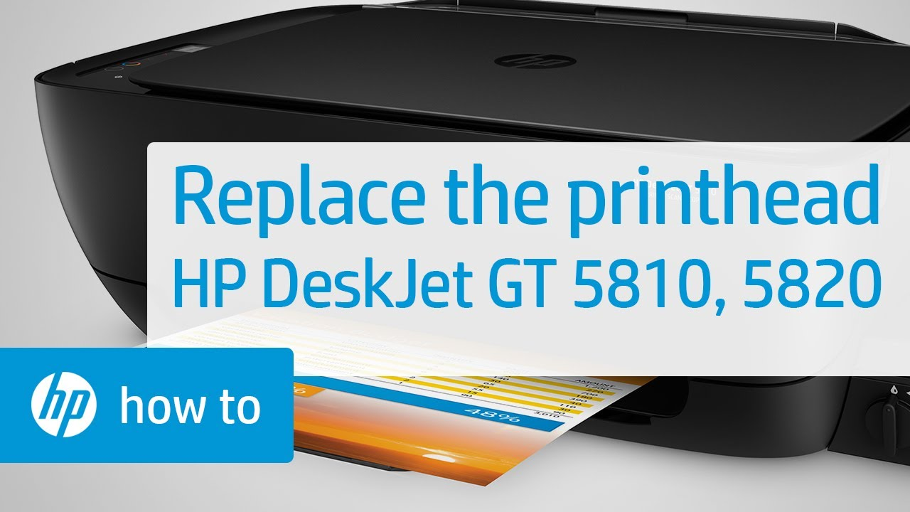 Replacing The Printheads On Hp Deskjet Gt 5810 And 5820 Printers Tinta 680 Colour Ink Cartridge Original Hpsupport Hpdeskjet