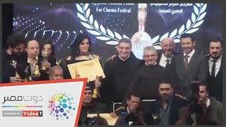 """حورية فرغلى والفيشاوى وفيلم """"يوم الدين"""" يحصدون جوائز الأفضل من المركز الكاثوليكى"""
