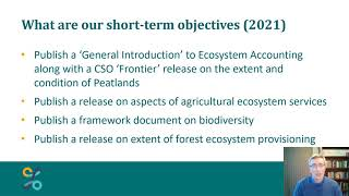 Overview of Irish Ecosystems projects at CSO by Tom Healy
