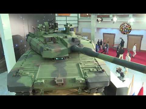 İşte Türkiye'nin Milli Ana Muharebe Tankı Altay!