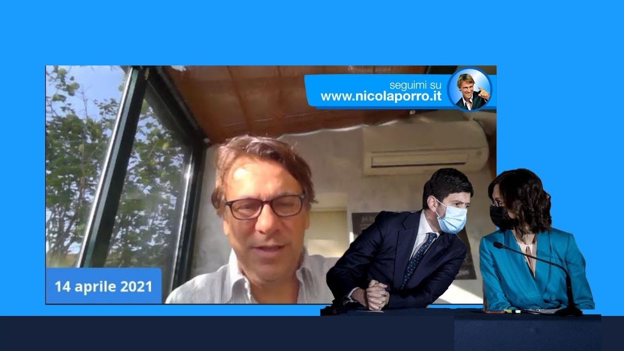 Speranza fragile, Gelmini lo vaccina (14 apr 2021)