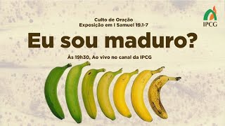 CULTO DE ORAÇÃO - 04/05/2021