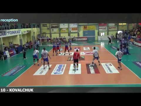 Oleg Kovalchuk Highlights Greece A1 2015-16