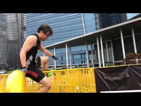 The different obstacles at Men's Health Urbanathlon