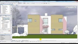 BIM med ArchiCAD: Flere dybder i snitt- og fasadeoppriss