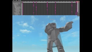 roblox studio | animation editor - side punch