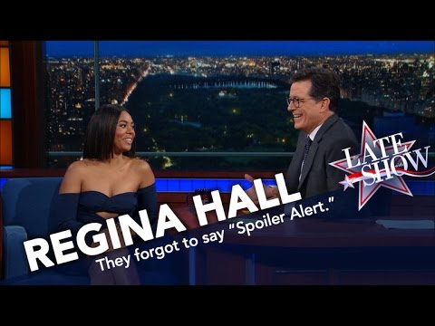 Stephen Spoils the Ending of Regina Hall's Movie