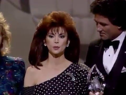 People's Choice Awards  Victoria Principal and Patrick Duffy  Dallas