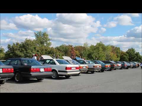 Első Velence találkozó.Audi 100/200/5000/V8  C3   First Audi cars meeting at Lake Velence, Hungary.