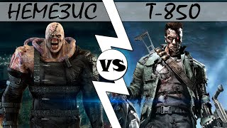Немезис VS Т-850 [ОБЪЕКТ] кто кого версус Nemesis против терминатор, Resident Evil, Terminator