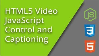Controlling HTML5 Video and Captions with JS