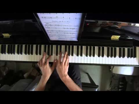alfred's-basic-piano-library-jazz-rock-course-level-2-no.21-chasing-the-blues-away-(p.24)