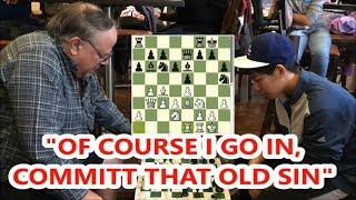 Carlini In The Fight Of His Life vs. 15 Year Old Master Rated 2241!