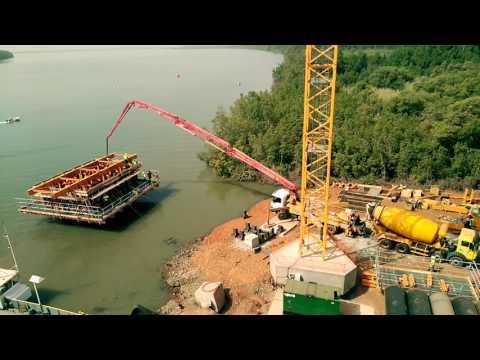 TransGambia Bridge - Work in progress. March_2017