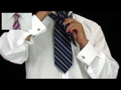 Kako vezati kravatu. jednostavan i brz i elegantan. Windsor čvor.