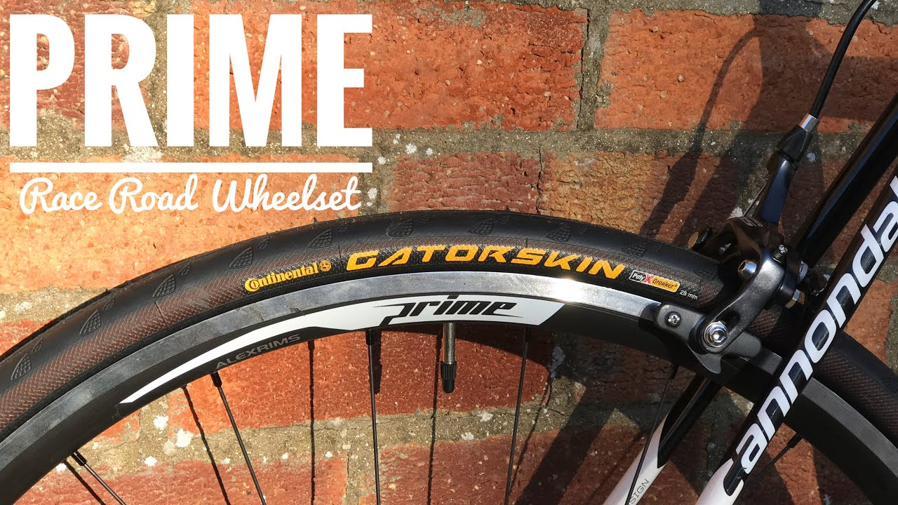 f8943a6af49 Prime Race Road Wheelset Unboxing and First look - YouTube