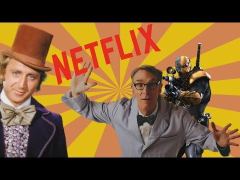 New Bill Nye Show! DeathStroke Confirmed! and Netflix Kill Ads!