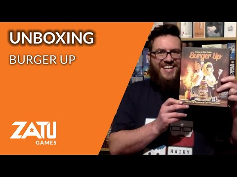 Burger Up Board Game Unboxing