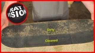 Clean Skateboard & Longboard Grip Tape