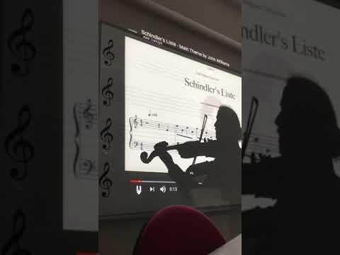 Schindler's List - Violin Solo