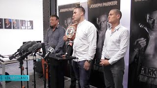 'I want to test his chin' - Joseph Parker eyeing up Anthony Joshua showdown for 2018
