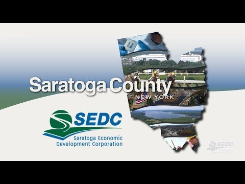 SEDC Building Capacity & Infrastructure for Saratoga County
