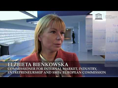 Celebrating New World Heritage Sites, Elżbieta Bieńkowska, EU Commissioner