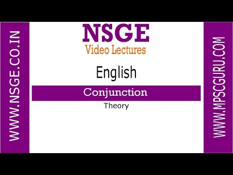 Conjunction English Part 1