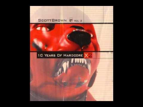 (CD 1) Scott Brown - X2 10 Years Of Hardcore (Vol 2) Evolution Records