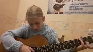 Уроки гитары - играем Прелюд