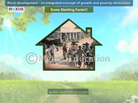 Rural Development- An Integrated Concept of Growth and Poverty Elimination