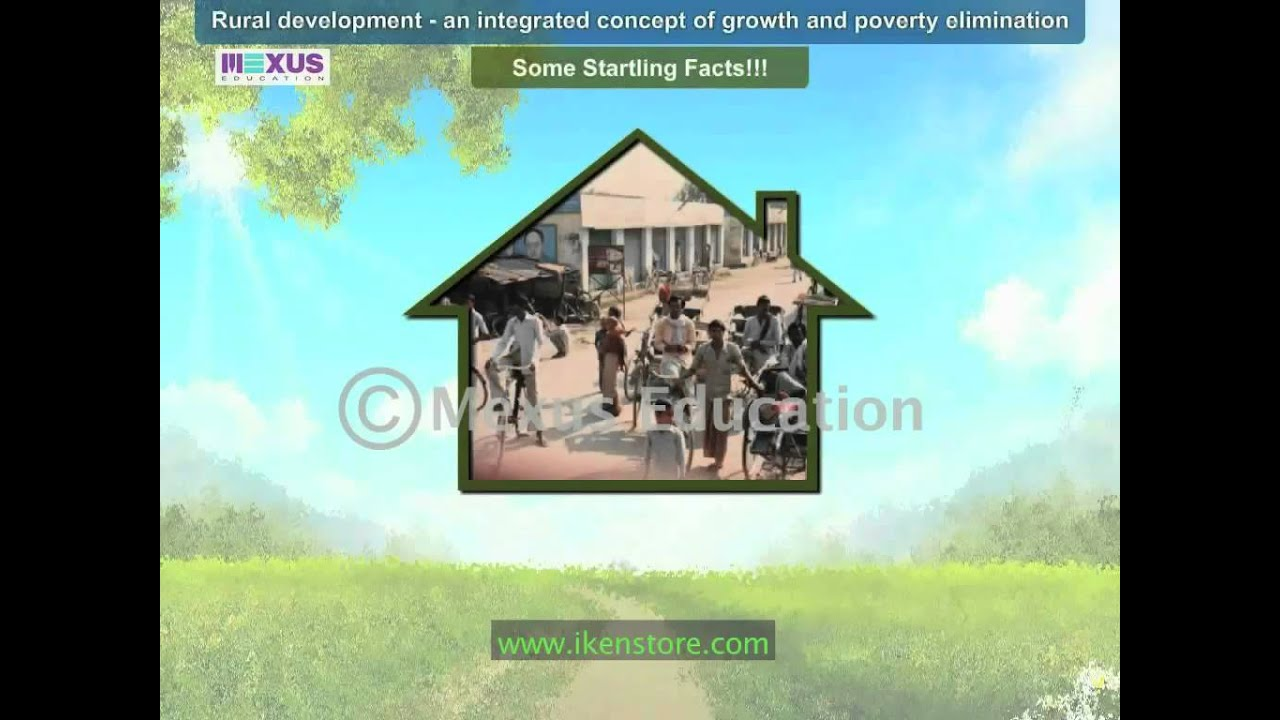Download Rural Development- An Integrated Concept of Growth and Poverty Elimination