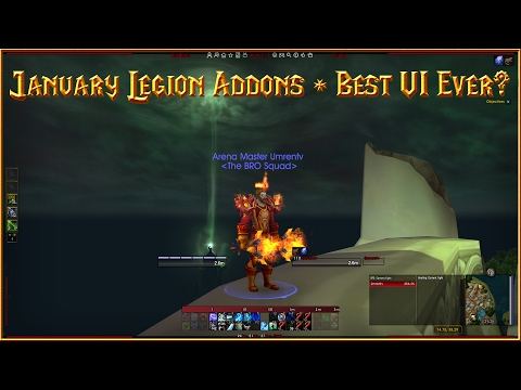 January 2017 Addons List - Is AltzUI the Best UI I've Used? - WOW Legion 7.1.5