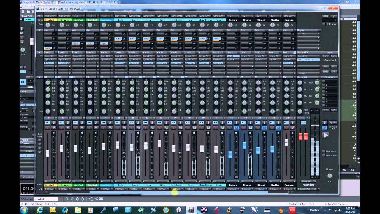 Magix Samplitude Music Studio Crawl Youtube