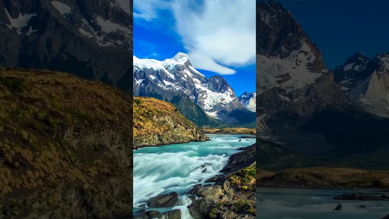 Samsung Theme Video Wallpaper Great Rivers And Mountains Youtube