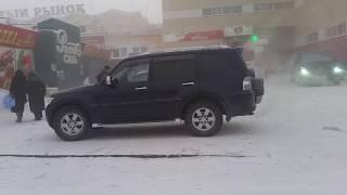 Yakutsk. December. bitter cold