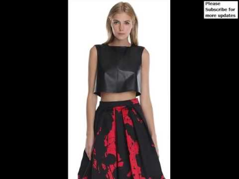 1f934496df9 Collcetion Of Dress Of Leather Crop Top Pictures | Leather Crop Top Romance