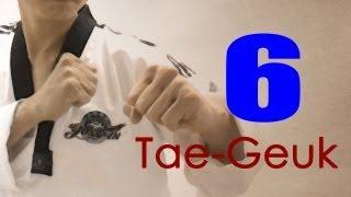 WTF Taekwondo poomsae Taegeuk 6 Jhang (taekwonwoo) 태극 6장