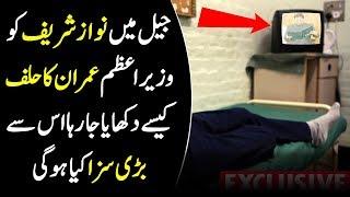Nawaz Sharif Watched Imran Khan's Oath I Prime Minister Imran Khan Halaf I Peoplive