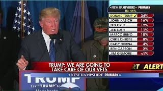 Trump Delivers Victory Speech After Winning New Hampshire Pt. 2
