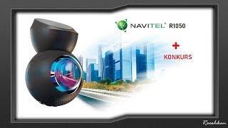 Navitel R1050 - Prezentacja rejestratora + giveaway dla widzów