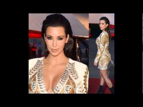 Бело-золотые платья и пиджаки от бренда Balmain